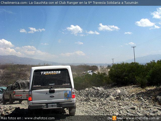 La Guachita en solidaria Club Ranger