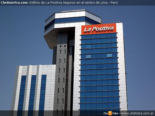 Edificio La Positiva Seguros en Lima