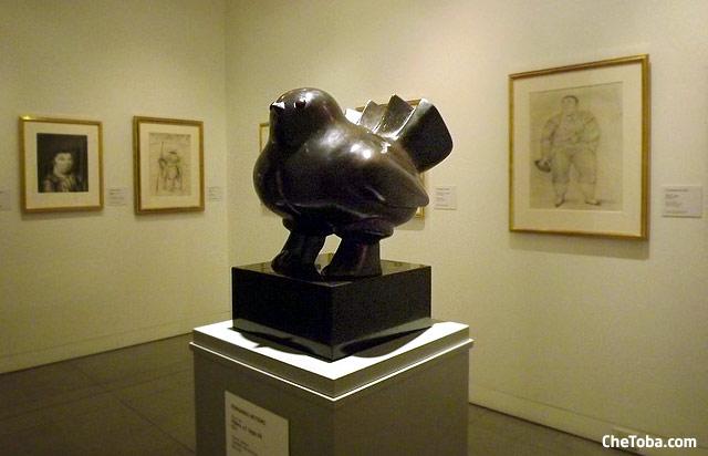 Escultura Museo Botero