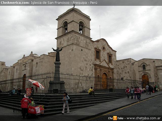 Iglesia de San Francisco Arequipa