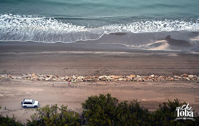 Playas desiertas de Monte Hermoso