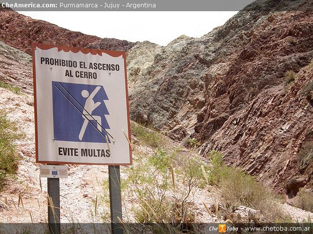 Subir al cerro 7 Colores Jujuy