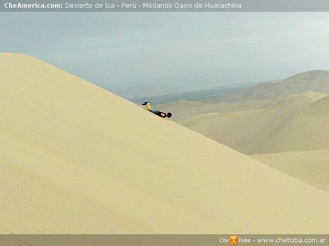 Laguna y Oasis de Huacachina