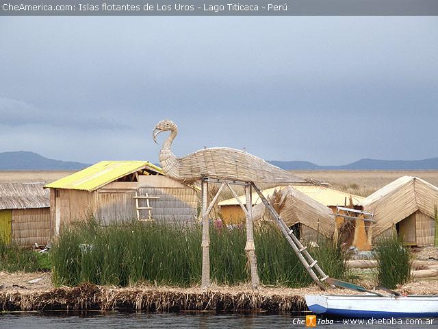 Arte de Totora en las islas del Titicaca
