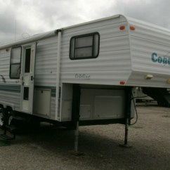 Jackknife Sofa Bed George Smith 1998 Coachmen 259rk Catalina Lite 5th Wheel - Chetopa Rv ...
