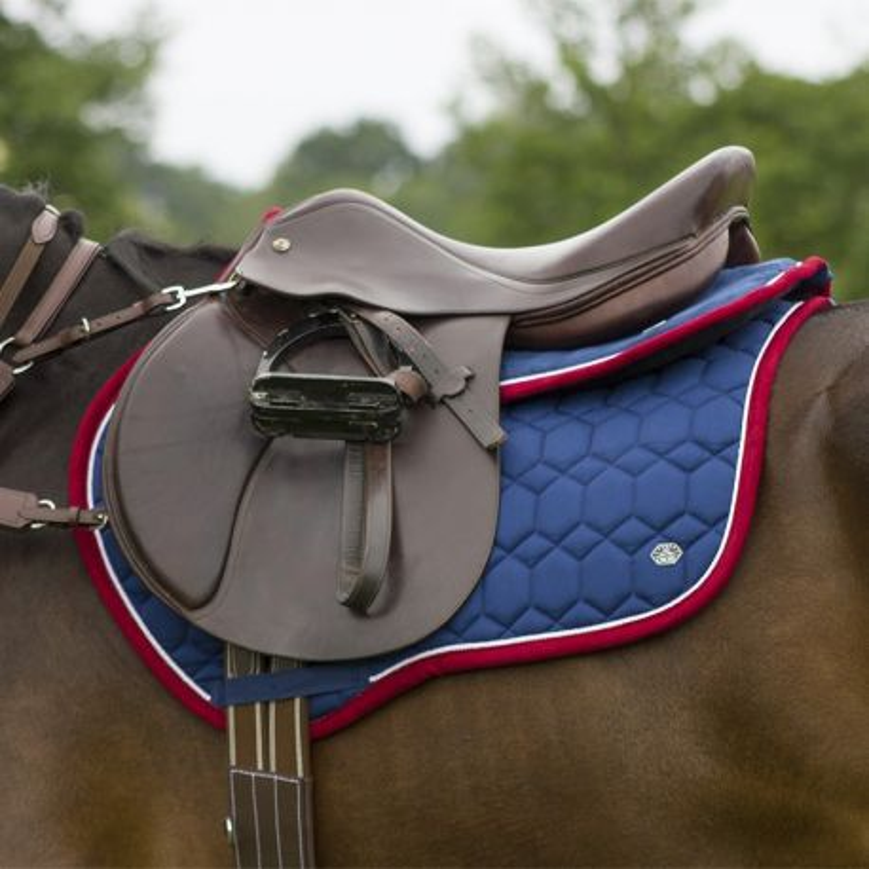 tapis de selle eldorado qhp cheval shop