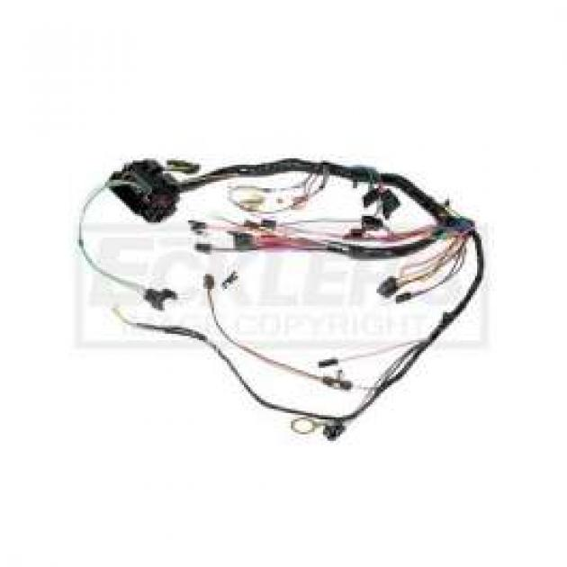 Chevelle Dash Wiring Harness, Main, For Cars With Standard