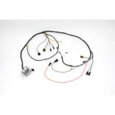 Chevelle Engine Wiring Harness, Small Block, For Cars With