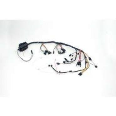 Chevelle Dash Wiring Harness, Main, For Cars With Factory