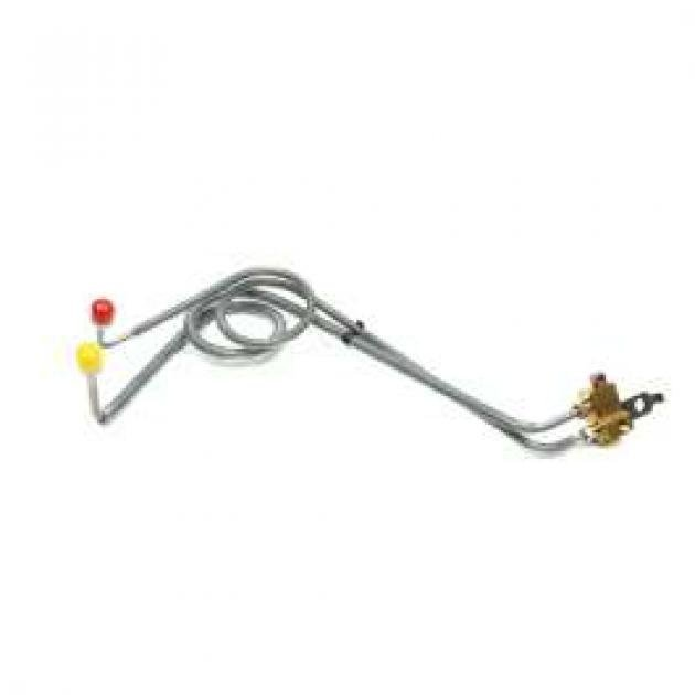 Chevelle Line Kit, Master Cylinder Conversion, Dual, With
