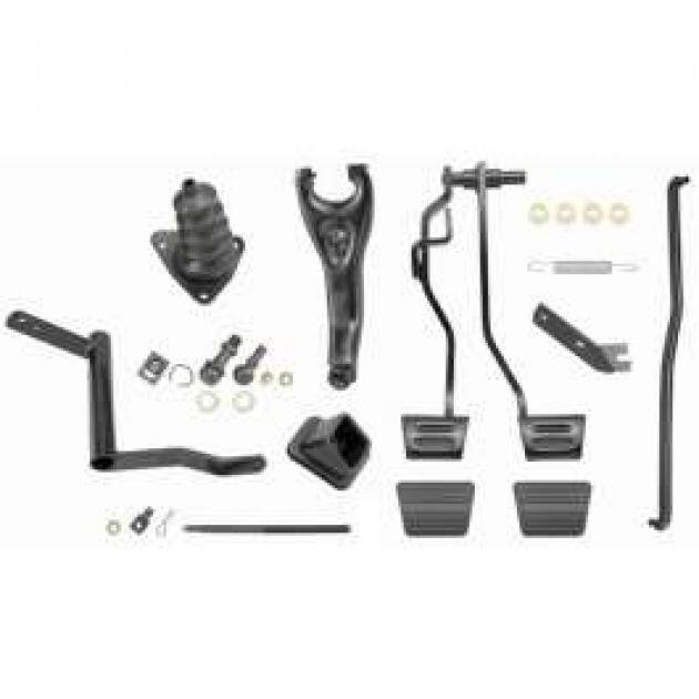 Chevelle Clutch Linkage Conversion Kit, Automatic To