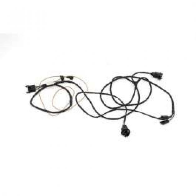 Chevelle Rear Body Wiring Harness, 2-Door Sedan & Coupe
