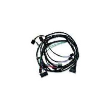 Chevelle Front Light Wiring Harness, For Cars With Factory
