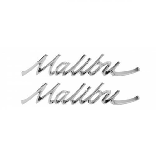Chevelle Quarter Panel Emblem, Malibu, 1966-1967
