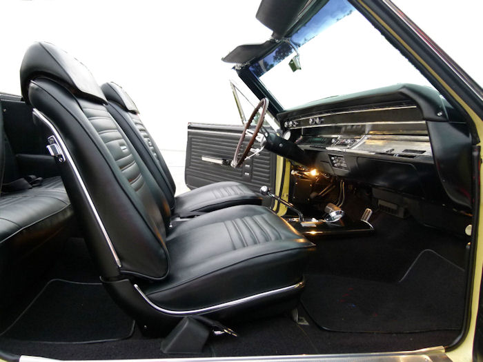 1967 Chevelle Interior Codes