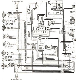 1968 Chevelle Wiring Diagrams