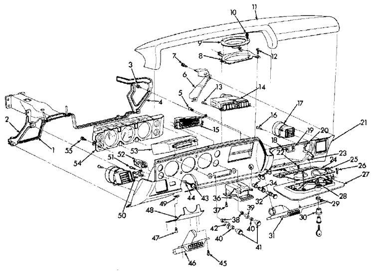 1972 Chevelle Steering Wheels and Door Panels