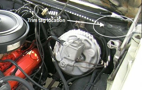 1976 Camaro Wiring Diagram 1972 Chevelle Trim Tag Breakdown