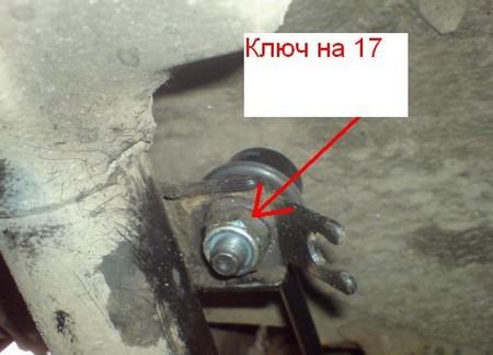 Замена стоек стабилизатора самостоятельно на автомобиле Шевроле Авео 1.5