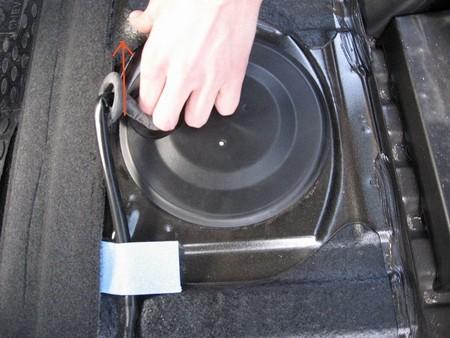 Замена фильтра в бензонасосе автомобиля Шевроле Авео 1.5 фото отчет