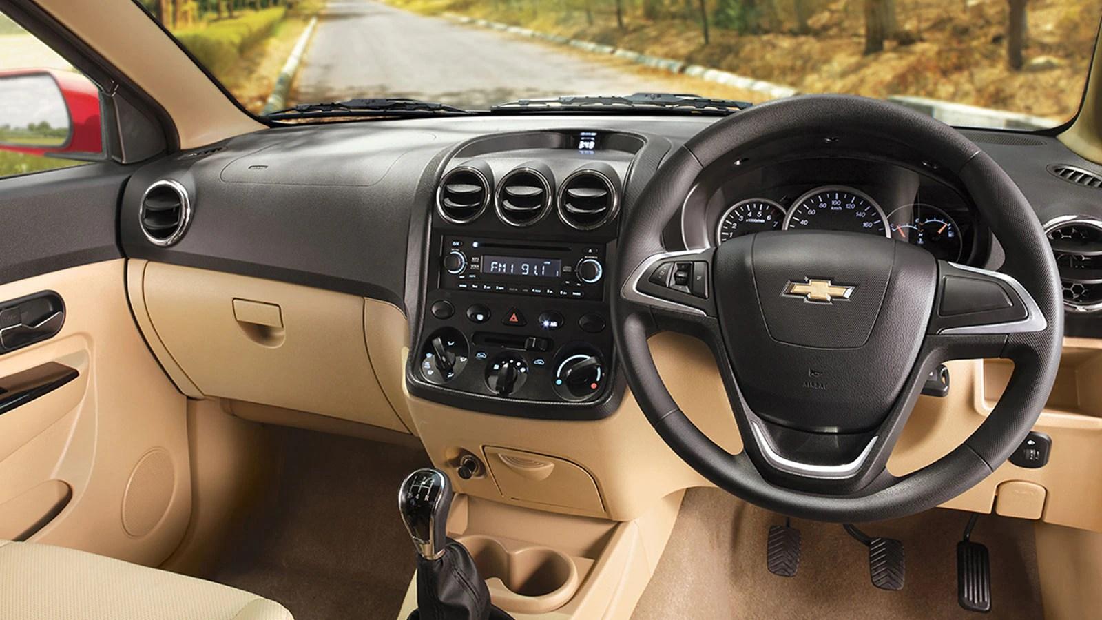 Chevrolet Enjoy MPV Interior Photo Gallery Chevrolet India