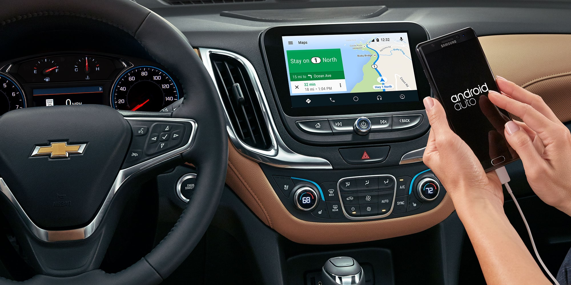 how to android auto [ 1268 x 634 Pixel ]