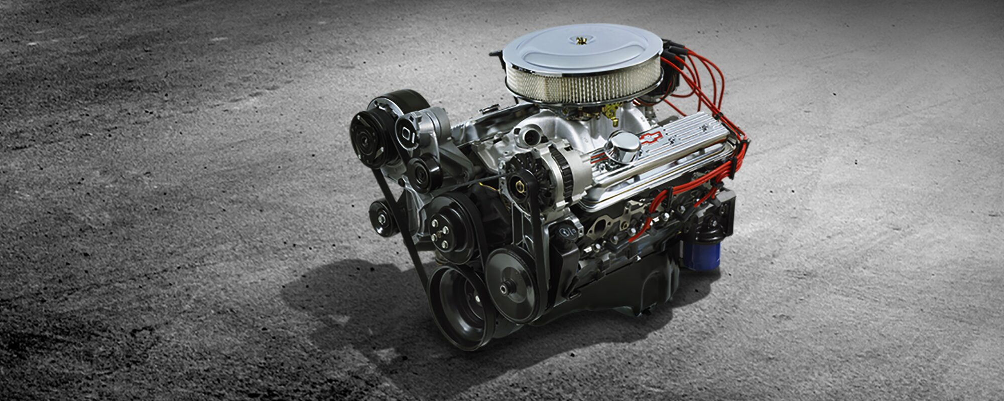 hight resolution of 350 ho small block crate engine chevrolet performance 1977 chevy small block motor wiring