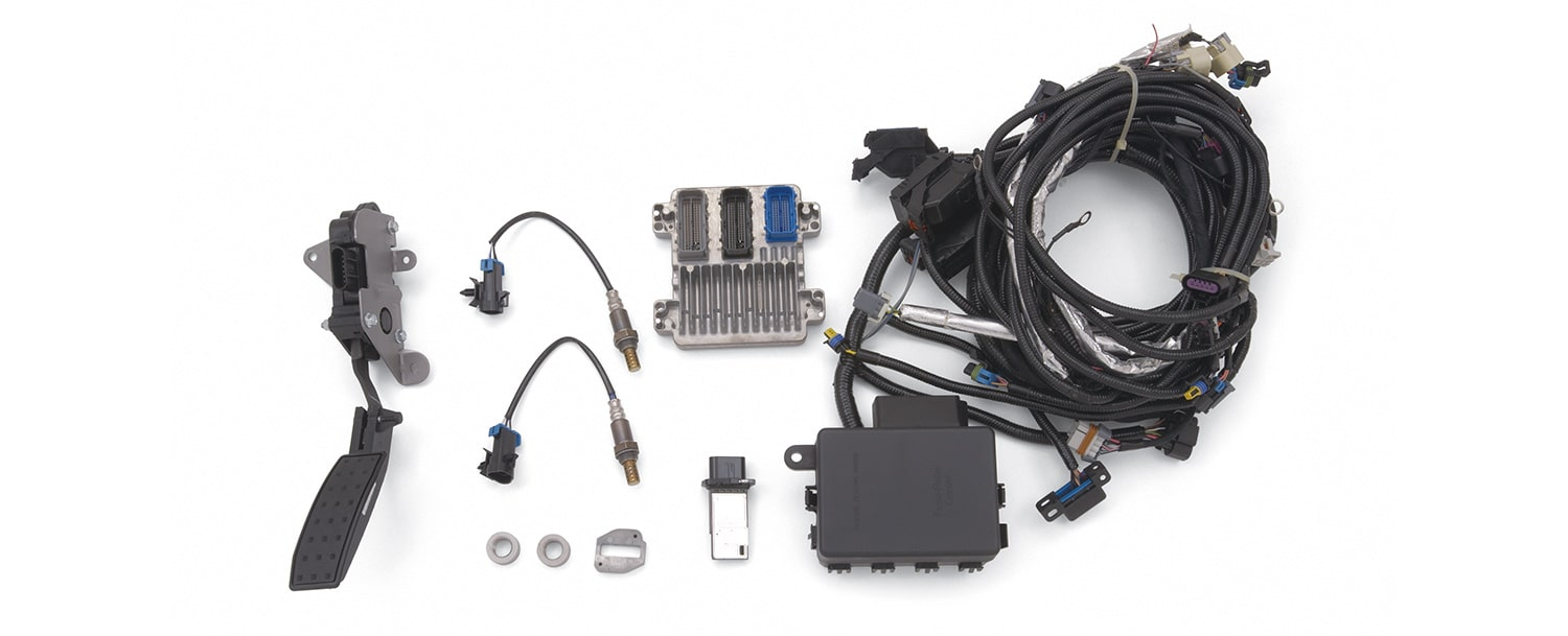 ls lt lsx block control modules harnesses chevrolet performance chevy engine control module wiring harness [ 1500 x 609 Pixel ]