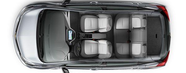 2018 Bolt EV Electric Car: Interior