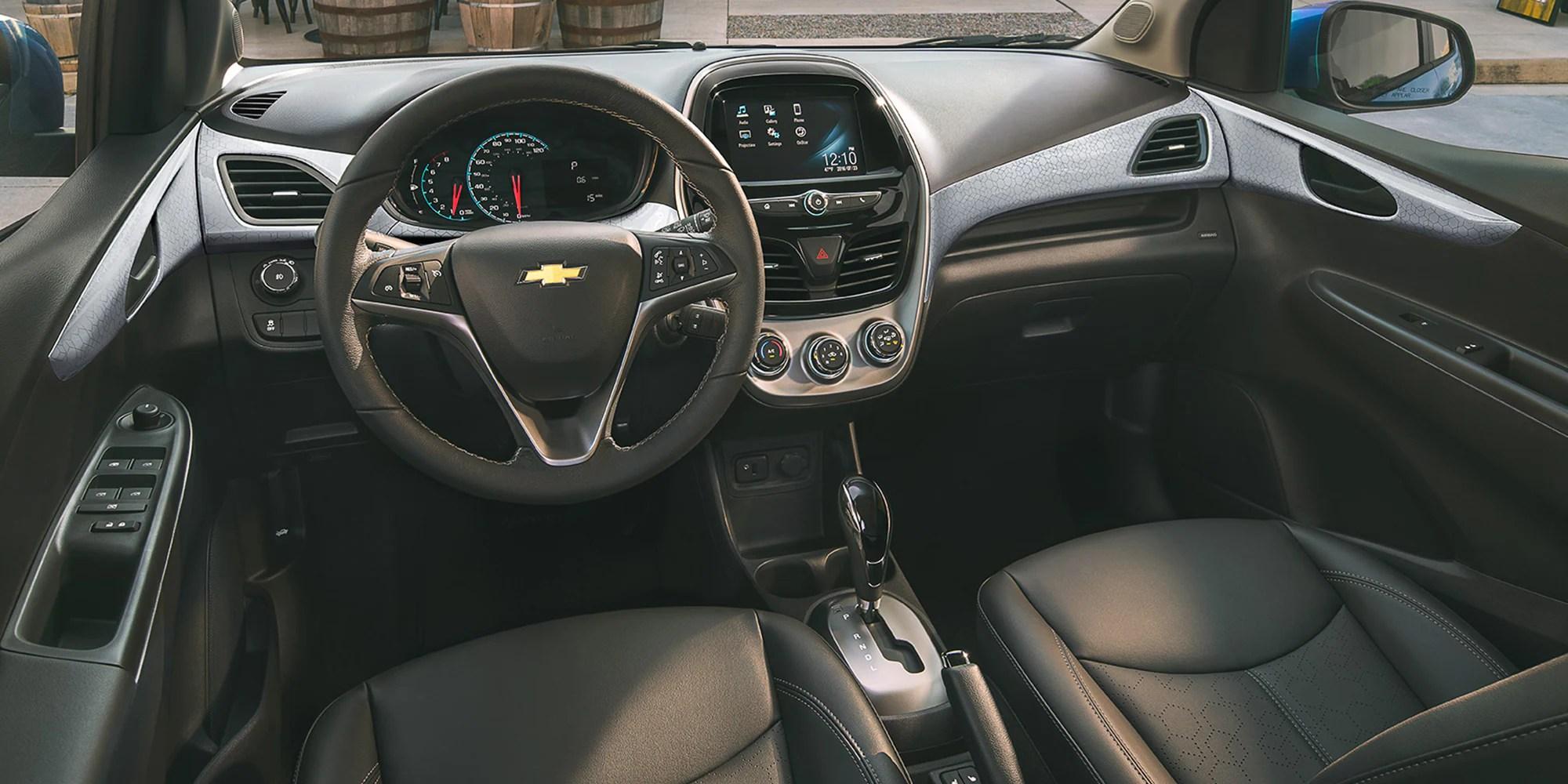 medium resolution of chevrolet 2018 spark city car activ interior