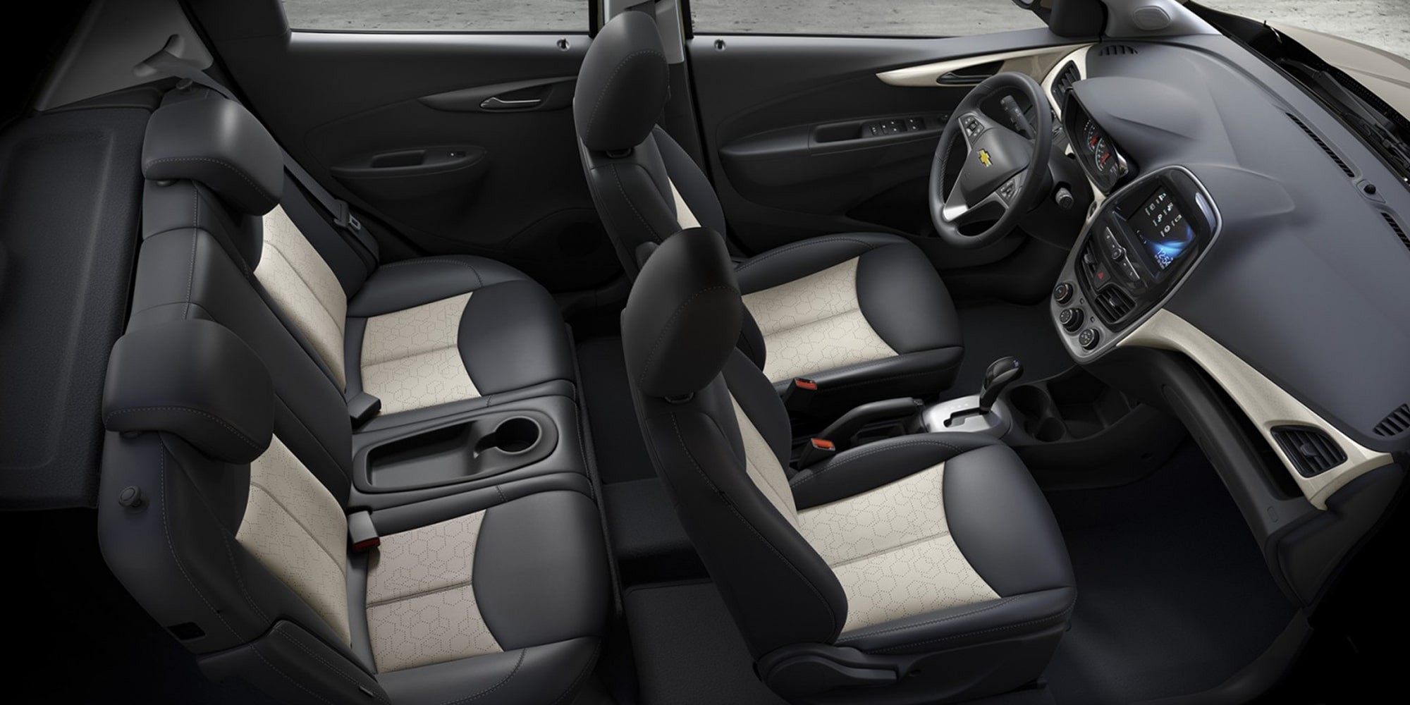 chevrolet 2018 spark city car design interior seats [ 1268 x 634 Pixel ]
