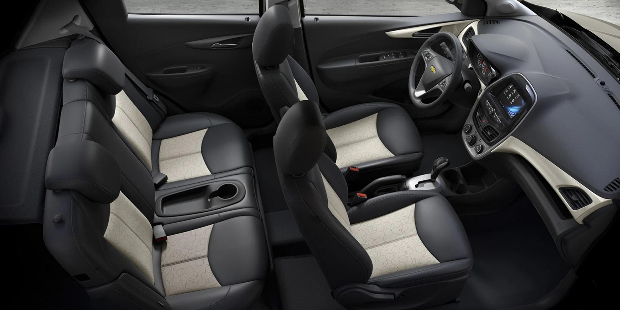 medium resolution of chevrolet 2018 spark city car design interior seats