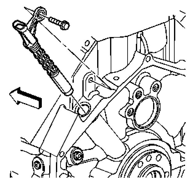 Anyone experienced with the crank sensor removal on a