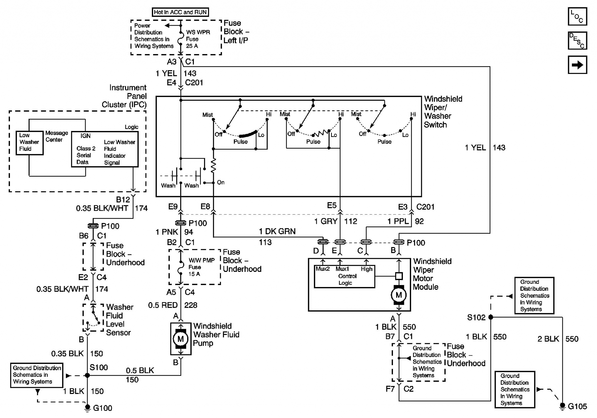 66 Gm Wiper Switch Wiring Diagram