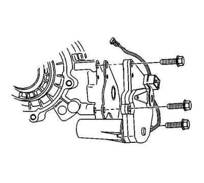 Transfer Case Motor/Encoder Replacement (02 Ref)