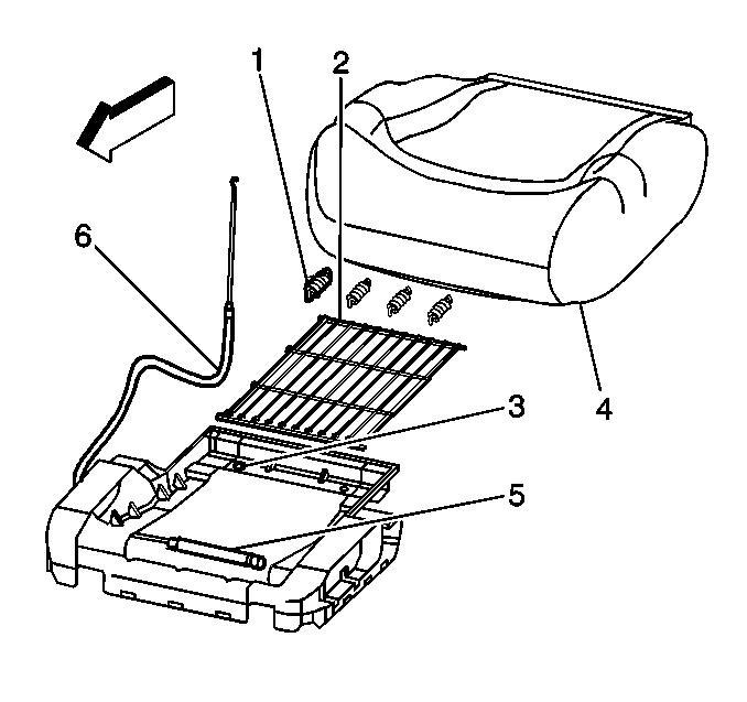 Seat / Seat Heater Service info.