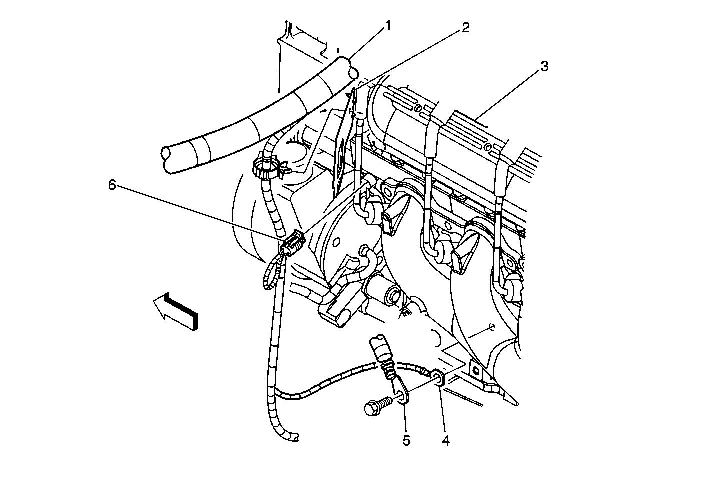 hight resolution of diagram of engine compartment for 1998 chevy tahoe