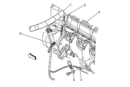 small resolution of diagram of engine compartment for 1998 chevy tahoe