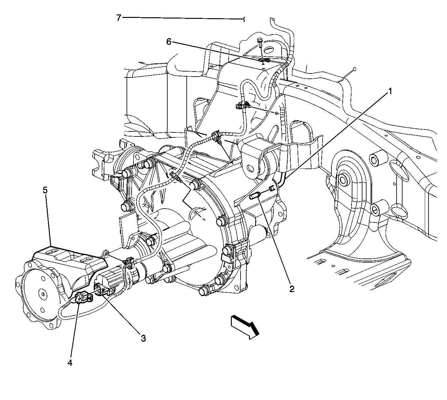 hight resolution of ground locations ref 2003 chevy transfer case diagram 2005 tahoe transfer case diagram