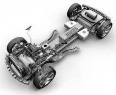2010 Chevy Volt Chassis