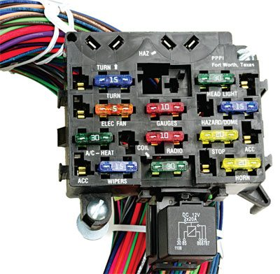 gm one wire alternator wiring diagram 2001 nissan frontier how to upgrade the and elecrtical in your chevelle step by 2