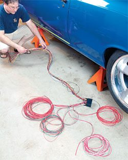 gm one wire alternator wiring diagram bulldog car diagrams how to upgrade the and elecrtical in your chevelle step by 2