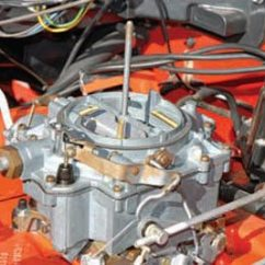 Car Air Horn Wiring Diagram Two Way Chevy 348 409 Induction And Ignition Guide Step By The Carter Wcfb Carb Has Three Main Parts Aluminum Cast Iron Throttle Body These Do Not Flow As Efficiently Later Afb