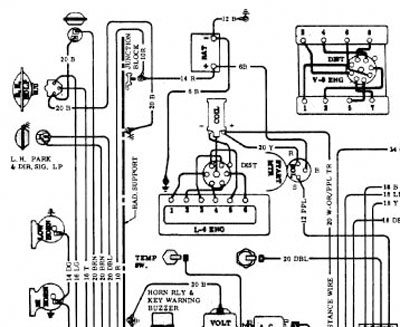 Wiring Diagram For 1967 Camaro