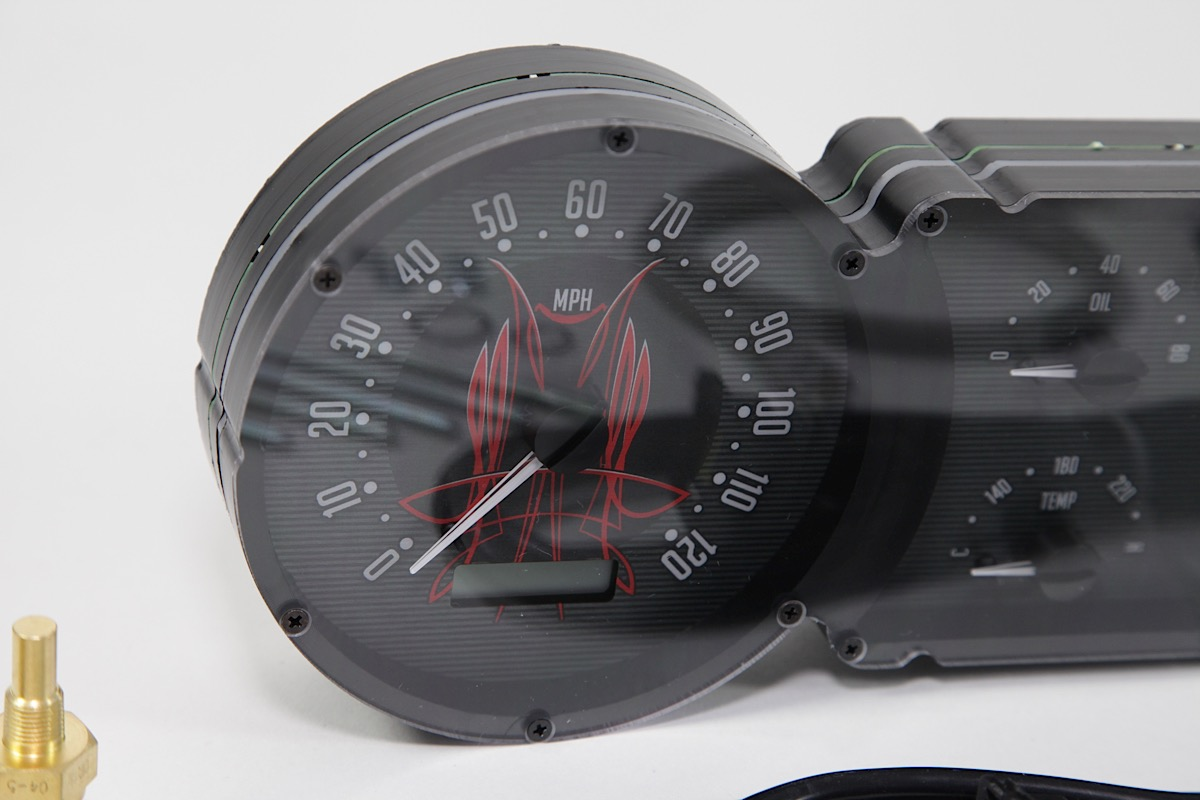 hight resolution of all of the items included with dakota digital s custom vhx instrument cluster