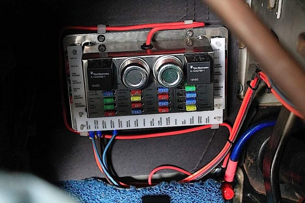 medium resolution of extra car fuse box
