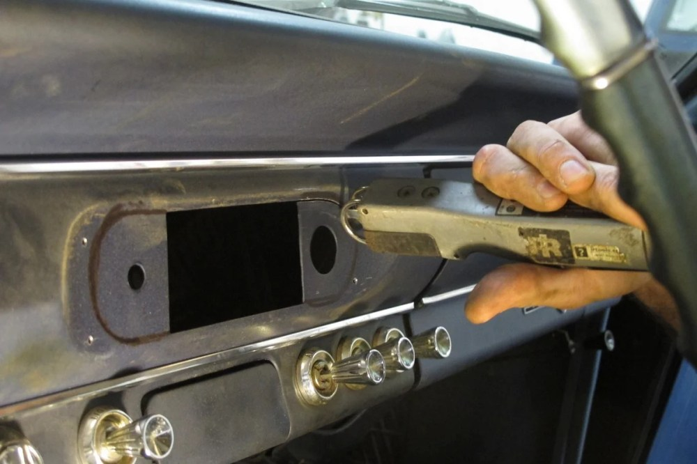 medium resolution of if you decide to use the radio delete gauge pod some cutting and drilling of the dash is required