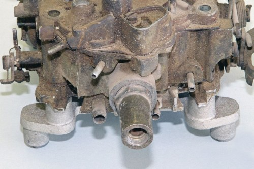 small resolution of all quadrajet fuel inlets are in one of two positions carburetors intended for chevrolet cadillac buick 67 only and gmc applications utilize a fuel