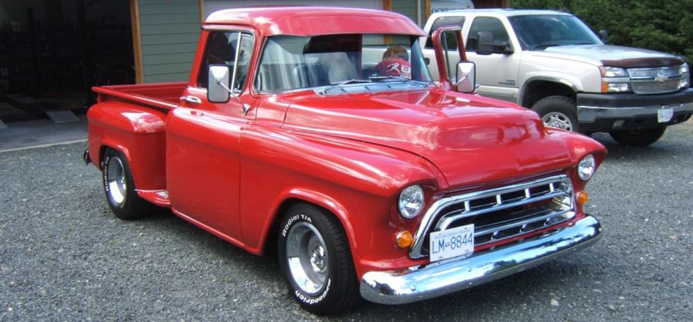 medium resolution of 1957 chevy pickup