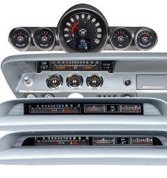 new dakota digital rtx gauges for your impala bel air or biscayne [ 1800 x 1787 Pixel ]